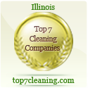 Cleaning Green Maids has made the list of Top 7 Cleaning Companies in Illinois